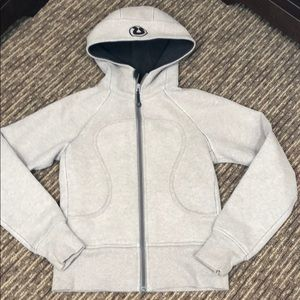 Lululemon scuba zip hoodie jacket size 4